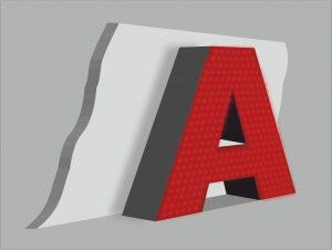 Объёмные световые с пикселями. Наружная реклама РПГ Альтус